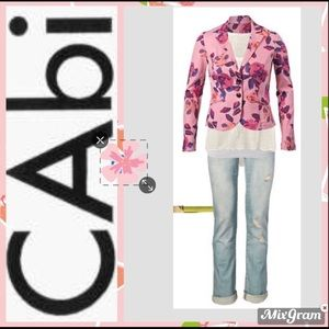 🆕 CAbi Rose Garden Jacket